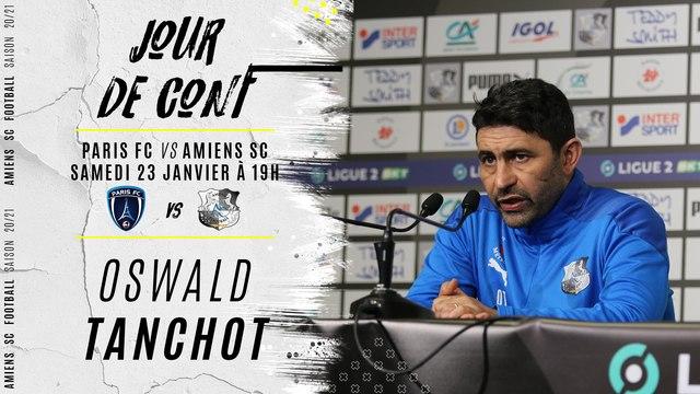 Jour de conf' Paris FC - ASC : Oswald Tanchot