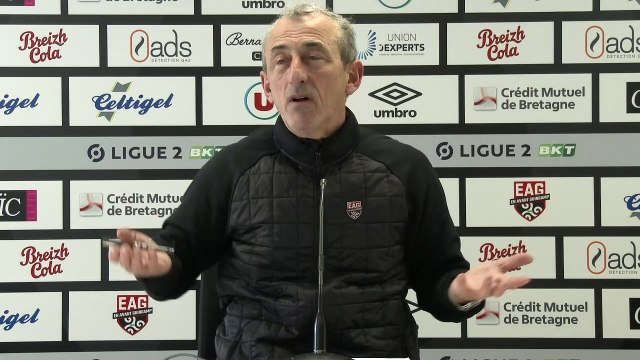 Le Havre-Guingamp | Ligue 2 BKT - J21 : le point presse de Mécha Baždarevi? avant le déplacement au Havre