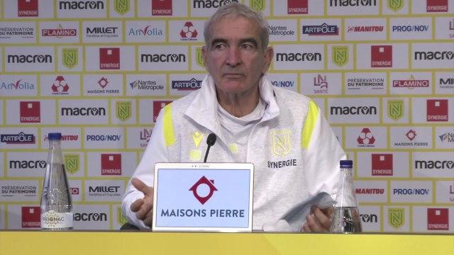 Domenech : « Carrière, je vais lui prouver qu'il a tort » - Foot - L1 - Nantes