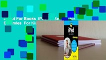 About For Books  iPad for Seniors for Dummies  For Kindle