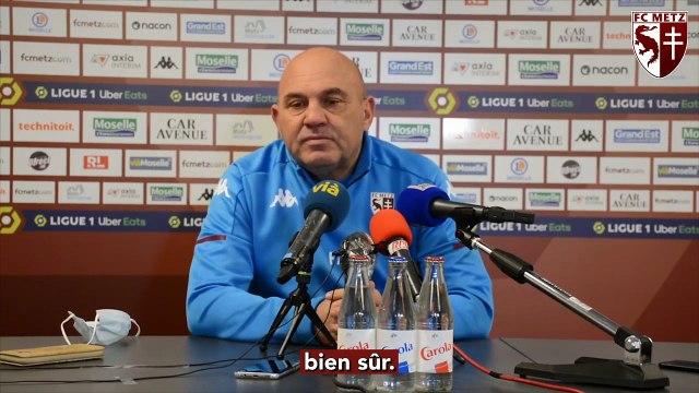 Metz - Nantes, la conférence d'avant-match