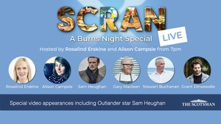 WATCH Scran LIVE: The Scotsman's  virtualBurns Night 2021