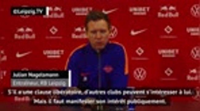 Leipzig - Upamecano sur le départ ? Nagelsmann n'est pas surpris par les rumeurs