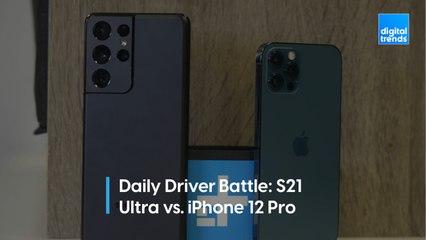 Samsung Galaxy 21 Ultra vs iPhone 12 Pro