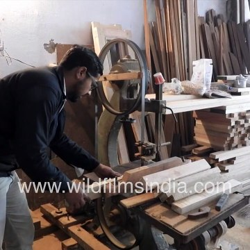 Carpentry unit in India _ Wooden furniture factory _ Electrical machinery for carpentry