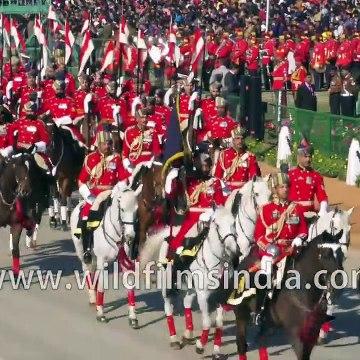 India's Republic Day 2020 - Final dress rehearsal on Rajpath, New Delhi