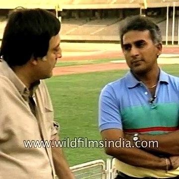 Sunil Gavaskar speaks to MAK Pataudi _ two cricketing legends!