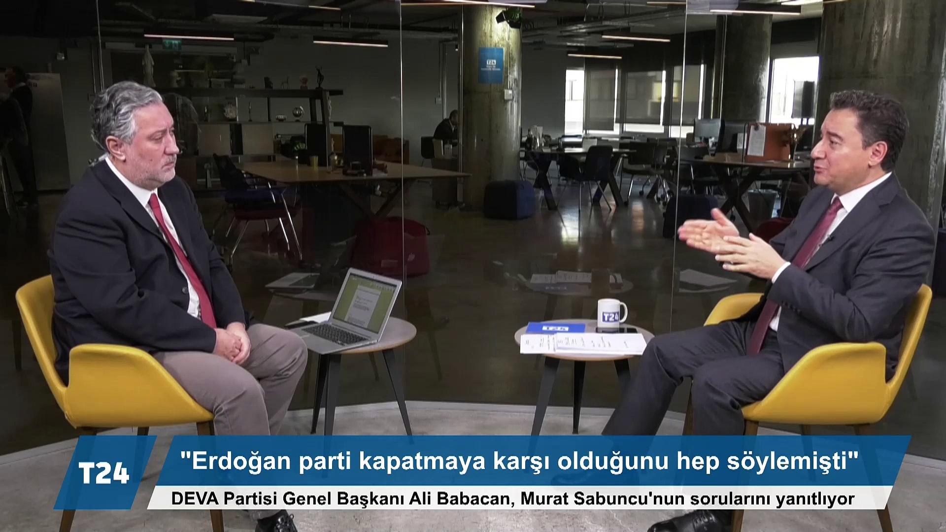Babacan T24'te: Vergi rekortmenleri saklanıyor, 'aman abi çökerler' korkusu var; sosyal yardım almanın koşulu AKP üyeliği olmuş