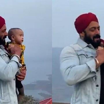 Arpita Khan Records Adorable Video Of Salman Khan Playing With Her Daughter Ayat