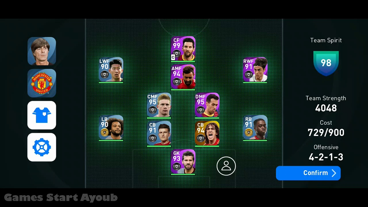 eFootball PES 2021 Gameplay Mobile Android/iOS