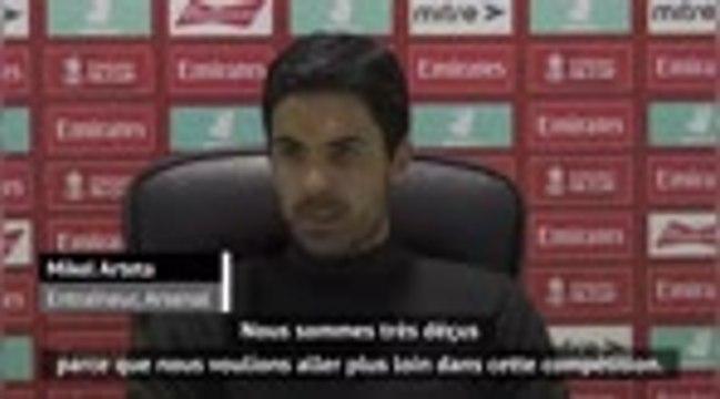 """Arsenal - Arteta : """"Le rêve prend fin"""""""