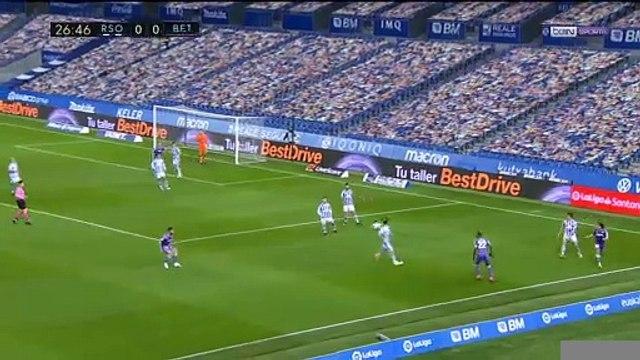 La Liga : Le Betis Séville décroche un nul inespéré chez la Real Sociedad