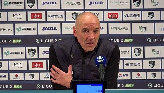 Après HAC - Guingamp (1-1), réactions de Paul Le Guen
