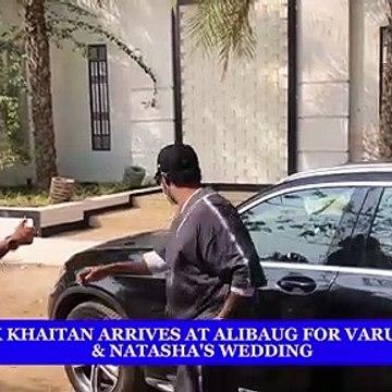 Shashank Khaitan arrives at alibaug for Varun Dhawan & Natasha's wedding