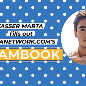 Kapuso Web Specials: Yasser Marta fills out GMANetwork.com's slambook