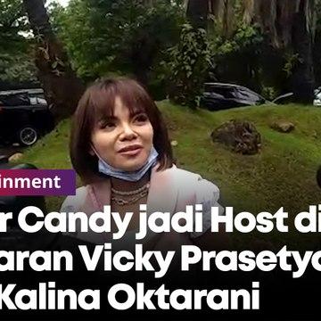 Dinar Candy jadi Host di Lamaran Vicky Prasetyo dan Kalina Oktarani
