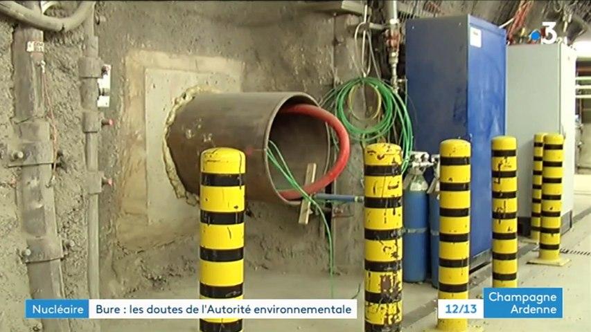 CIgéo - L'Avis de l'Agence Environnementale - France3 Champagne-Ardennes - JT 13h du 23/01/2021