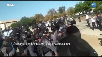 Aşırı Ortodoks Yahudiler İsrail'de Polisle Çatıştı