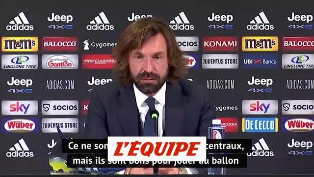 Pirlo : « Ronaldo et Kulusevski peuvent jouer ensemble » - Foot - ITA - Juventus
