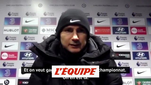 Lampard : « On a toujours besoin de résultats ici » - Foot - Cup - Chelsea