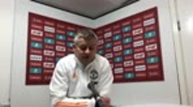 """Manchester United - Solskjaer : """"J'ai demandé à Cavani d'être un modèle pour les autres"""""""