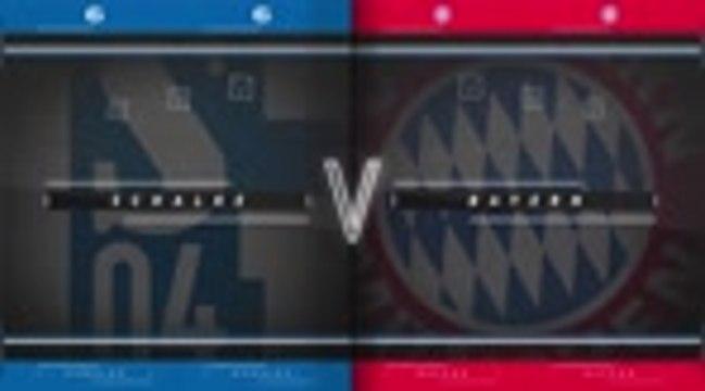18ème j. - Le Bayern s'amuse contre Schalke