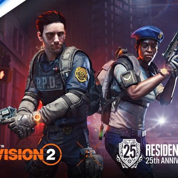Tom Clancy's The Division 2 x Resident Evil - 25th Anniversary Event Trailer - PS4