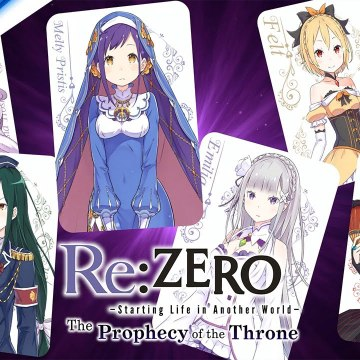 Re-ZERO -Starting Life in Another World- The Prophecy of the Throne - Game Overview Trailer - PS4