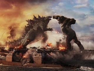 """""""Godzilla vs. Kong"""" (OV): Urzeit-Titanen treffen brachial aufeinander"""