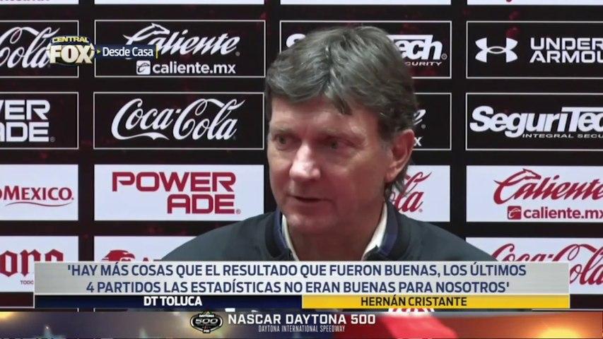 """""""El jugador tiene que hacerse responsable"""", Hernán Cristante: LUP"""