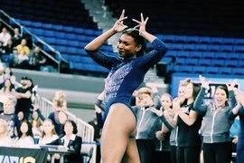 Nia Dennis la nouvelle star de la gymnastique