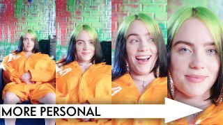 Billie Eilish Answers Increasingly Personal Questions