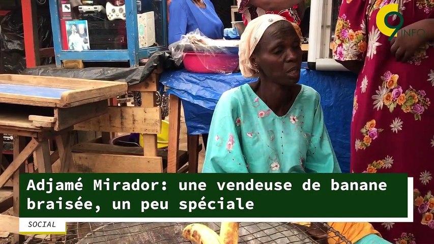Adjamé Mirador: une vendeuse de banane braisée, un peu spéciale