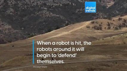 Smart Military Training Robots