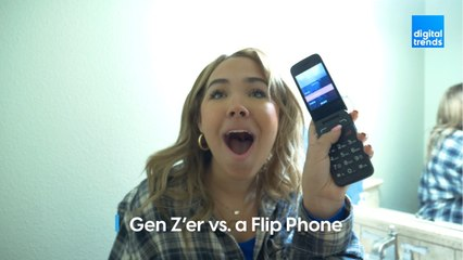 We forced a Gen Z kid to text with a flip phone for 24 hours. This is what happened