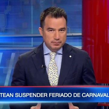 Plantean suspender el feriado de Carnaval