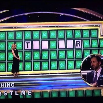 Celebrity Wheel of Fortune: Bonus Round #2 (1/21/21)