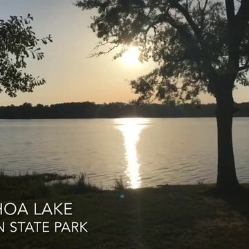 Sunset Over the Tangipahoa Lake at Percy Quin State Park (Time-Lapse)