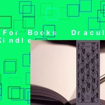 About For Books  Dracula  For Kindle