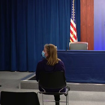 Defense officials hold press briefing at the Pentagon