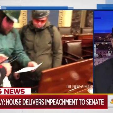 Banned For Life Trump Impeachment Hits Senate