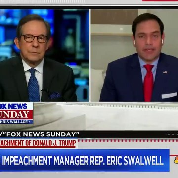 Rep. Swalwell Fires Back At GOP Critics Second Impeachment Is 'Constitutional'  Hallie Jackson
