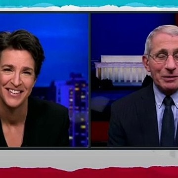 This is coming clean.  Rachel Maddow