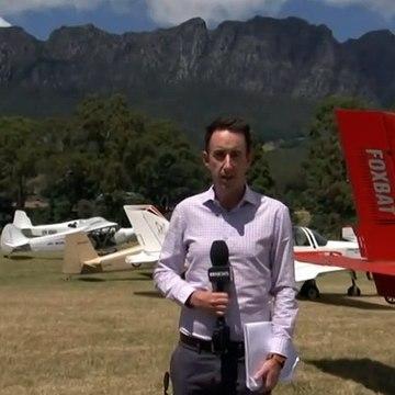 Tasmania's Mt. Roland hosts annual plane enthusiast event