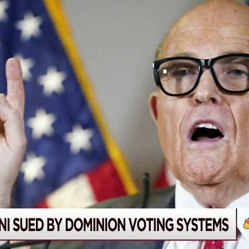 Dominion Voting Systems Sues Rudy Giuliani Over False Election Claims