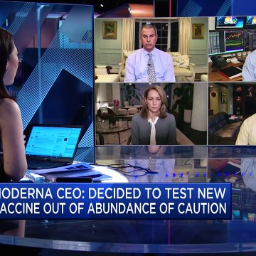 Moderna shares get a boost on latest vaccine news