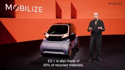 Mobilize EZ-1 Prototype - Interview Patrick LECHARPY, designer