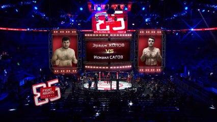 ERADZH KHOLOV (Tajikistan) VS ISMAEL SAGOV (Russia)   MMA FIGHT FULL HD, FRANCE