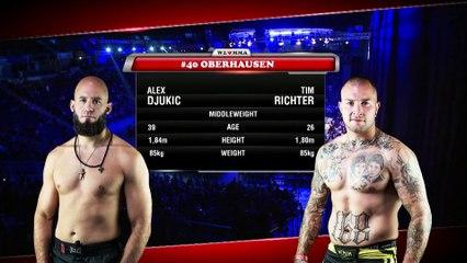 ALEX DJUKIC (GERMANY) VS TIM RICHTER (GERMANY)   MMA FIGHT FULL HD, FRANCE