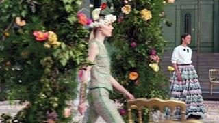 Le defile Chanel Haute Couture Printemps Ete 2021
